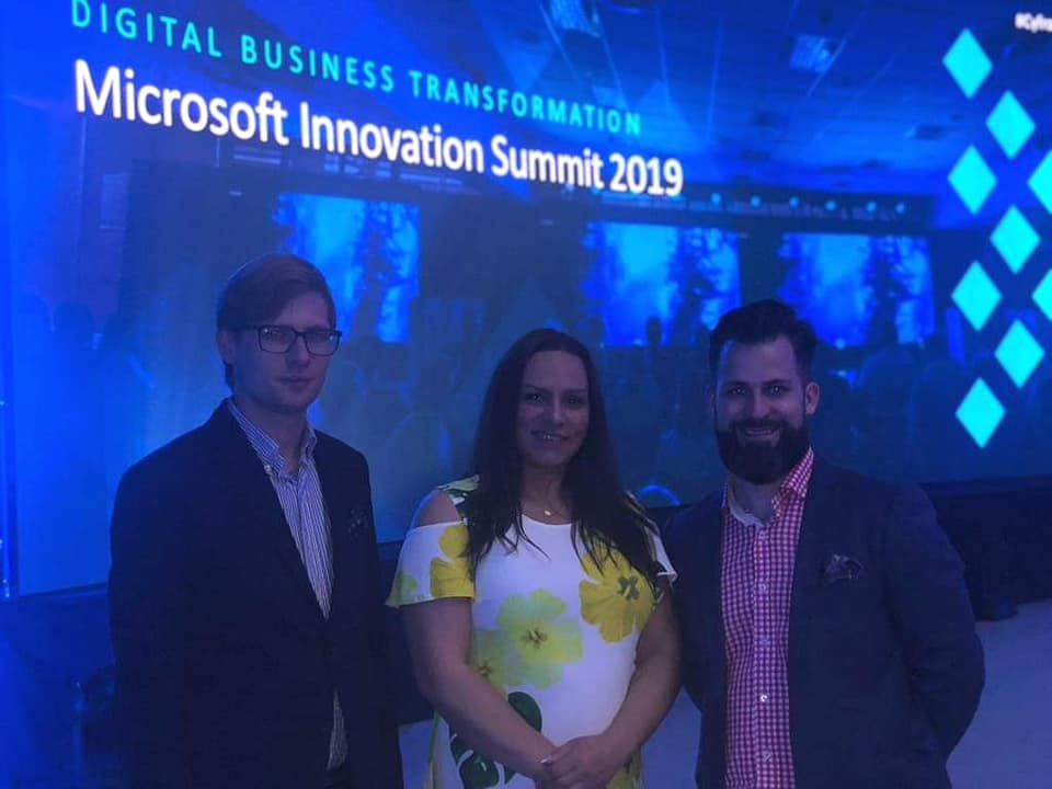 Fundusz Górnośląski zwizytą naMicrosoft Innovation Summit 2019