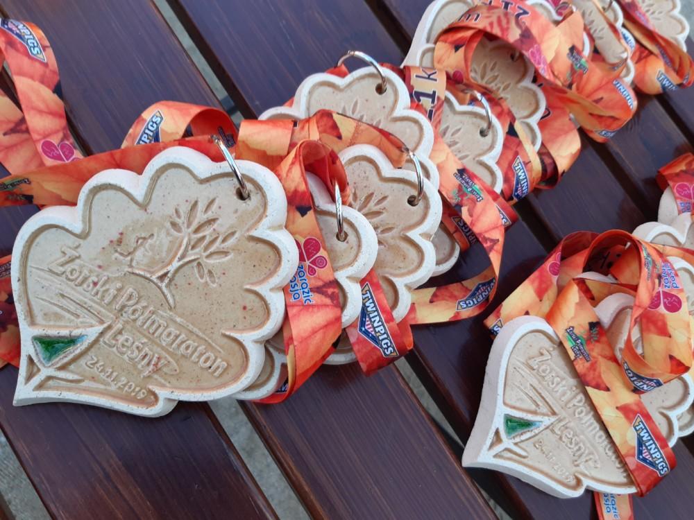 Żorski Półmaraton Leśny wmiasteczku TWINPIGS