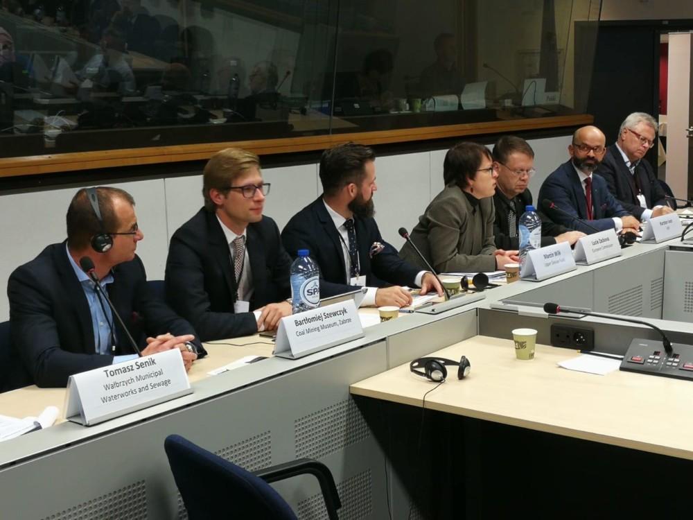 Komisja Europejska – projekt dotyczący internacjonalizacji przedsiębiorstw zregionu.