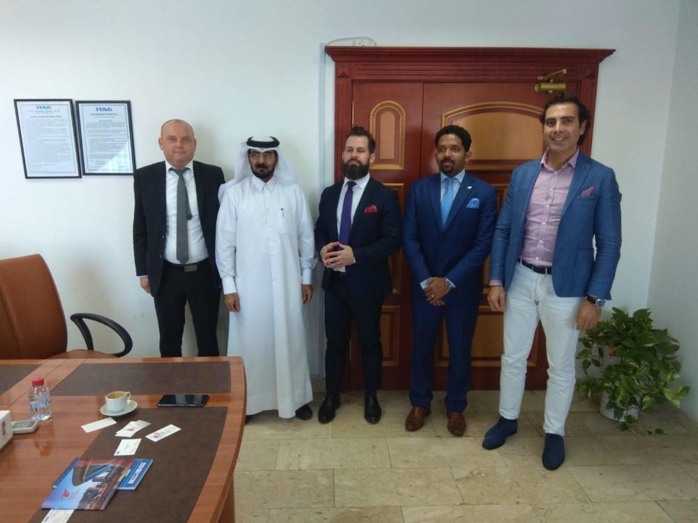 Spotkania biznesowe Zarządu wKatarze