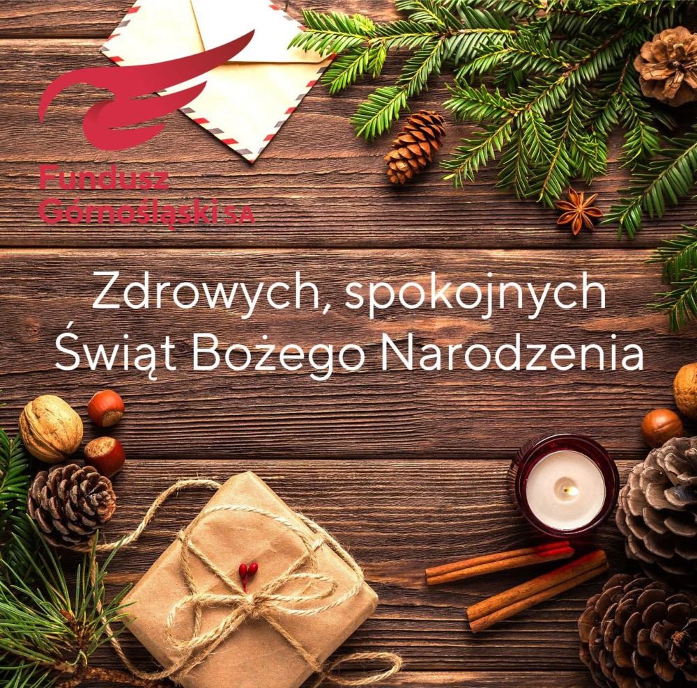 Zdrowych, spokojnych Świąt Bożego Narodzenia