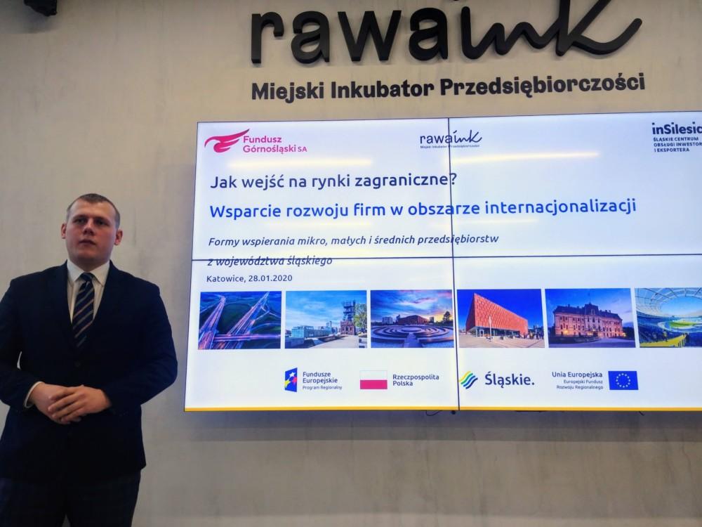 Seminarium wMiejskim Inkubatorze Przedsiębiorczości Rawa.Ink