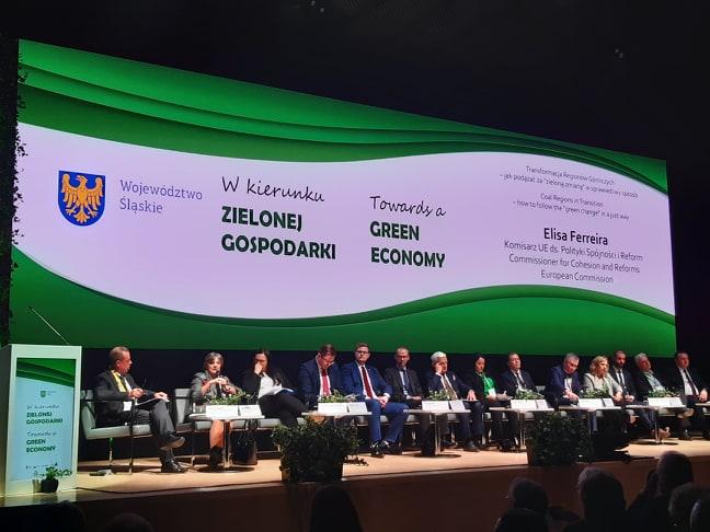 """Fundusz Górnośląski SA nakonferencji """"W kierunku zielonej gospodarki"""""""