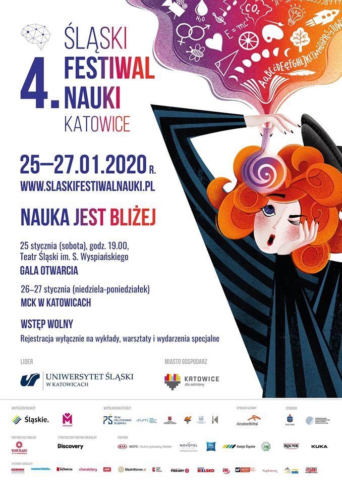 Już zachwilę 4. Śląski Festiwal Nauki Katowice