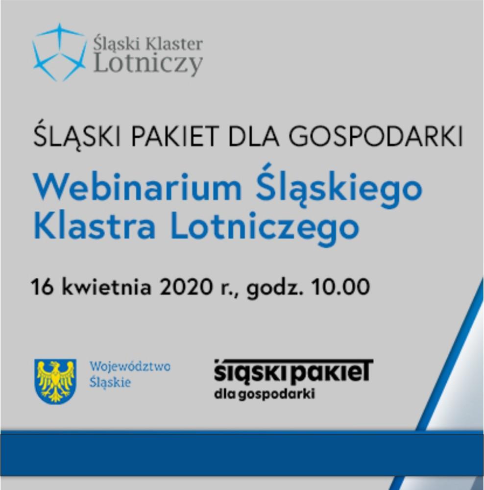 Zapraszamy naWebinarium dot. Śląskiego Pakietu dla Gospodarki