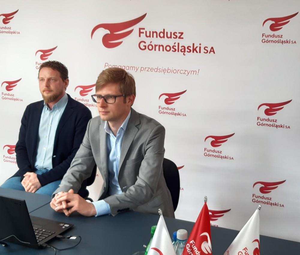 """Zanami webinarium """"Śląski Pakiet dla Gospodarki"""" dedykowany dla członków katowickiej Izby Rzemieślniczej."""