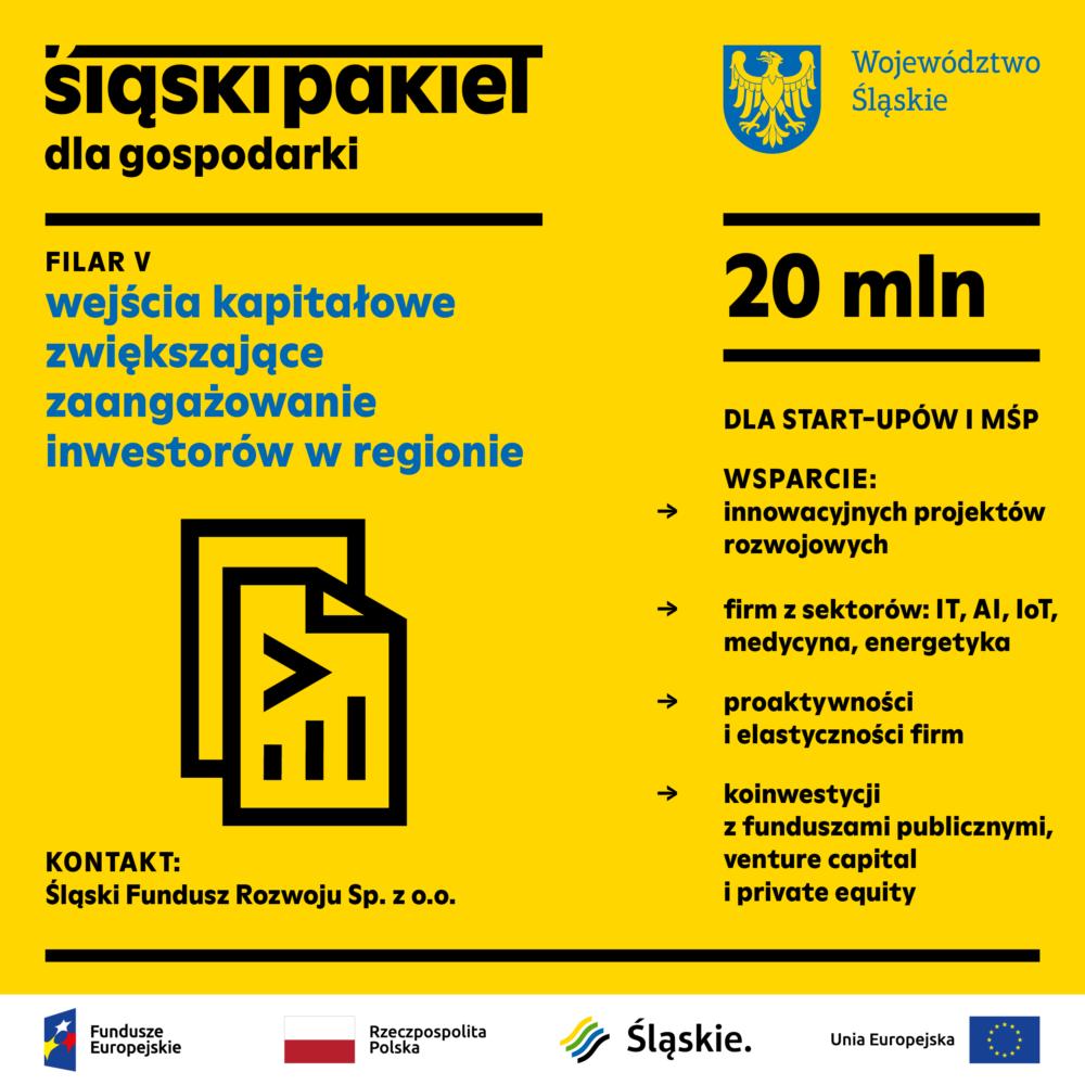 Śląski Pakiet dla Gospodarki – V FILAR