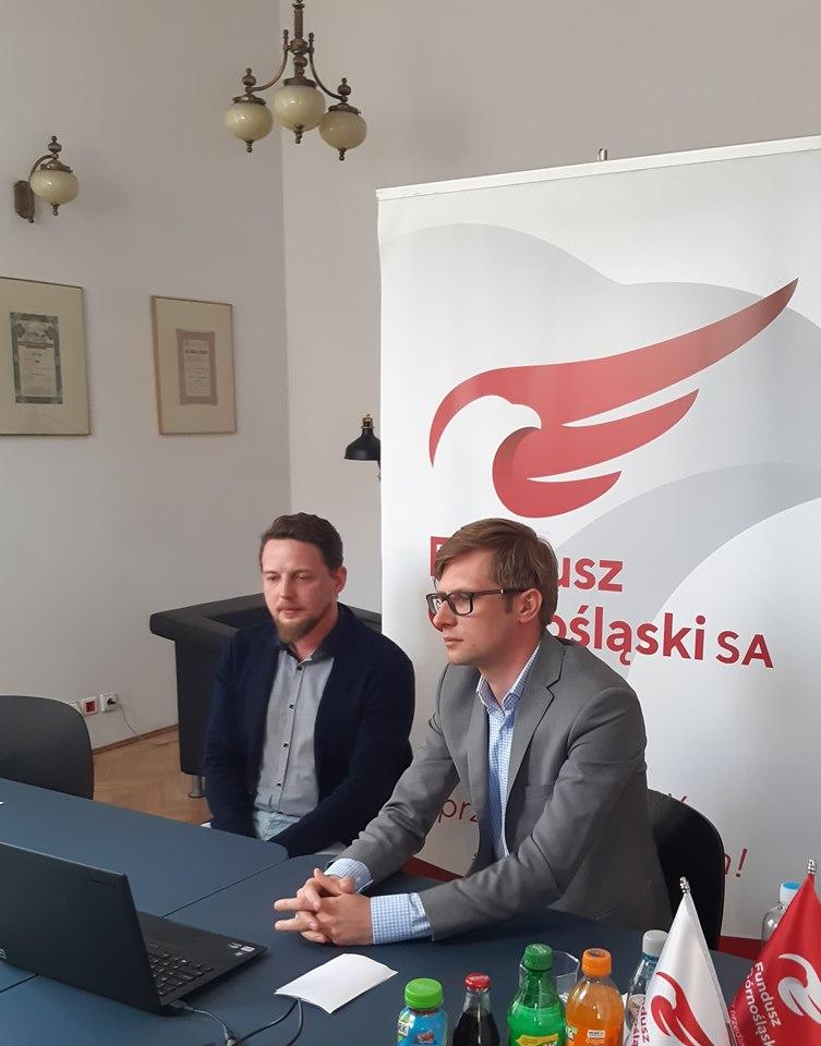 """Zanami webinarium """"Śląski Pakiet dla Gospodarki abranża medyczna"""""""