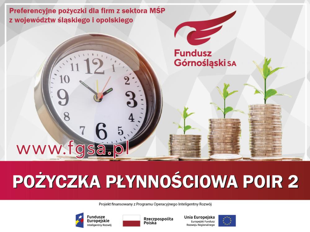 Przyjmujemy wnioski ounijne Pożyczki Płynnościowe POIR 2