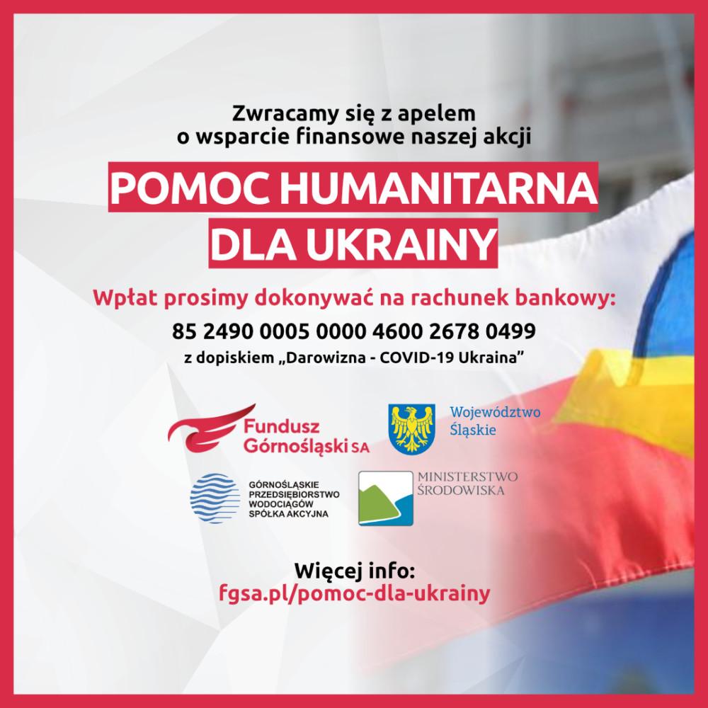 Akcja pomocowa wwalce zCOVID-19 dla Ukrainy