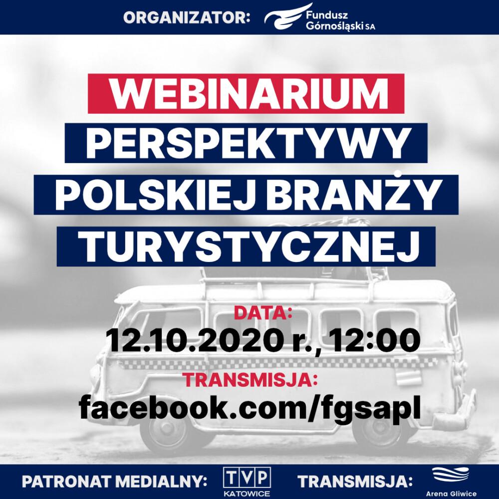 Webinarium: Perspektywy Polskiej Branży Turystycznej