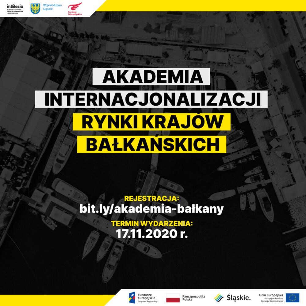 Akademię Internacjonalizacji - Rynki Krajów Bałkańskich
