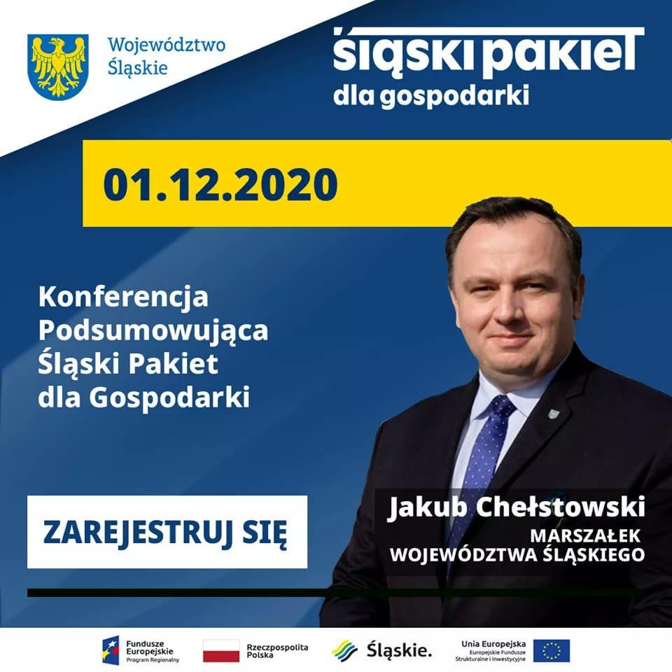 Konferencja podsumowująca ŚLĄSKI PAKIET DLA GOSPODARKI