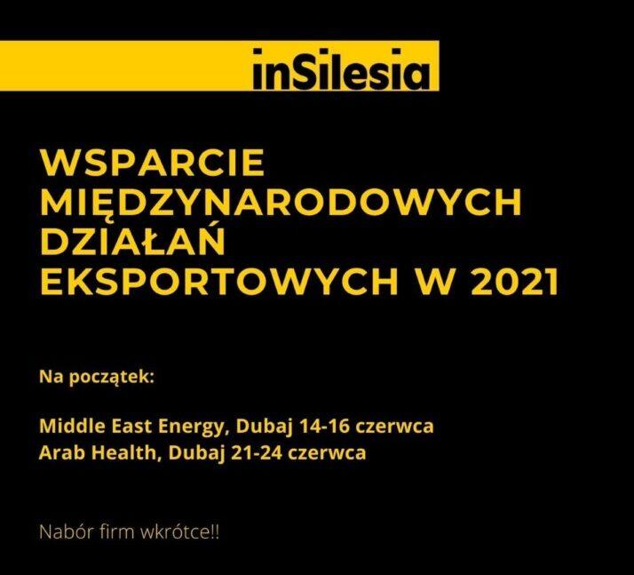 Wsparcie międzynarodowych działań eksportowych w2021 roku