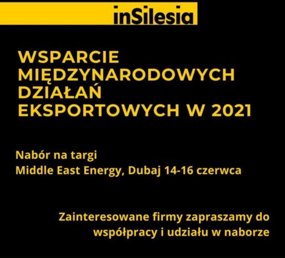Nabór natargi Middle East Energy wDubaju!