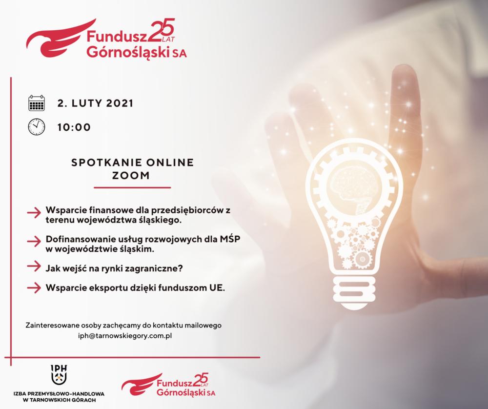 Spotkanie online zprzedsiębiorcami sektora #MŚP!
