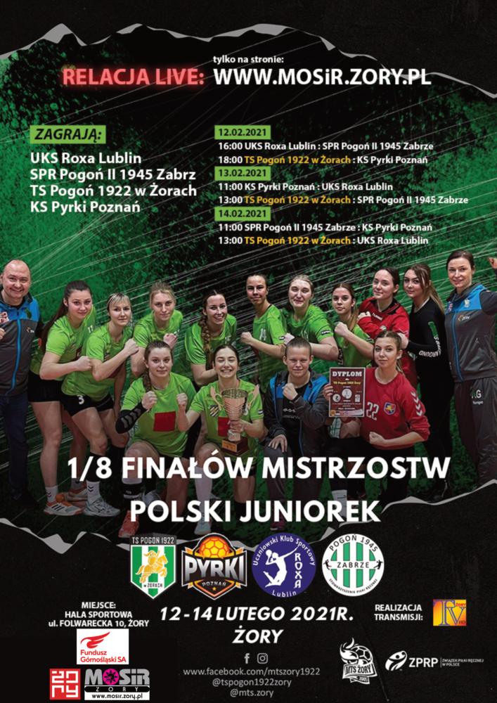 Mistrzostwa Polski Juniorek 2021!