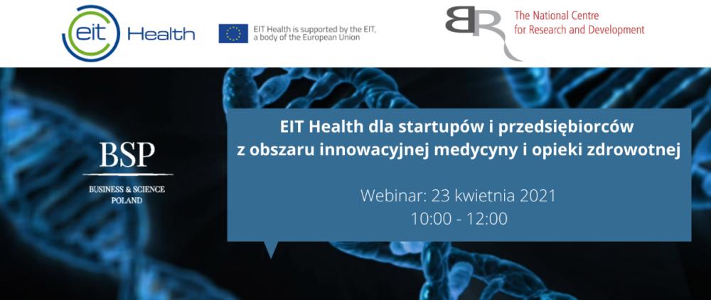 EIT Health dla startupów iprzedsiębiorców