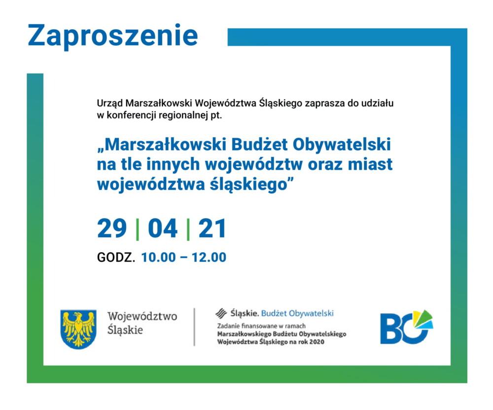 Marszałkowski Budżet Obywatelski natle innych województw orazmiast województwa śląskiego
