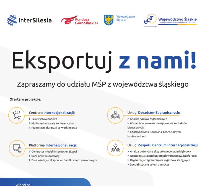 Eksportuj znami! – projekt InterSilesia