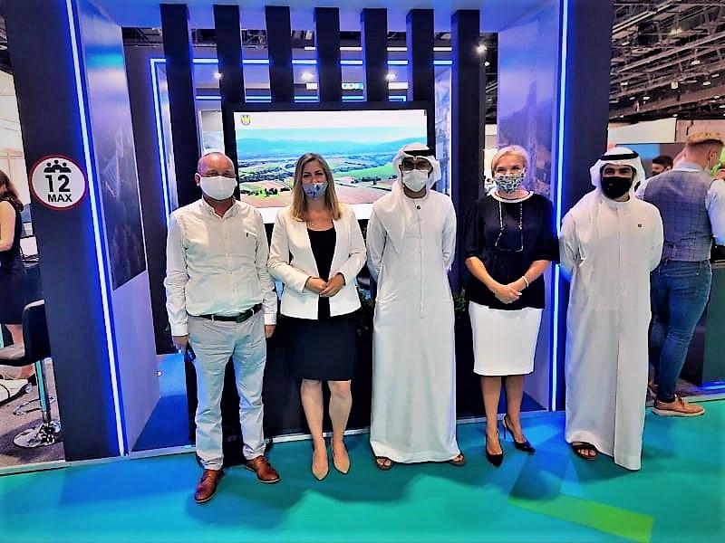 Relacja zudziału wTargach Arab Health