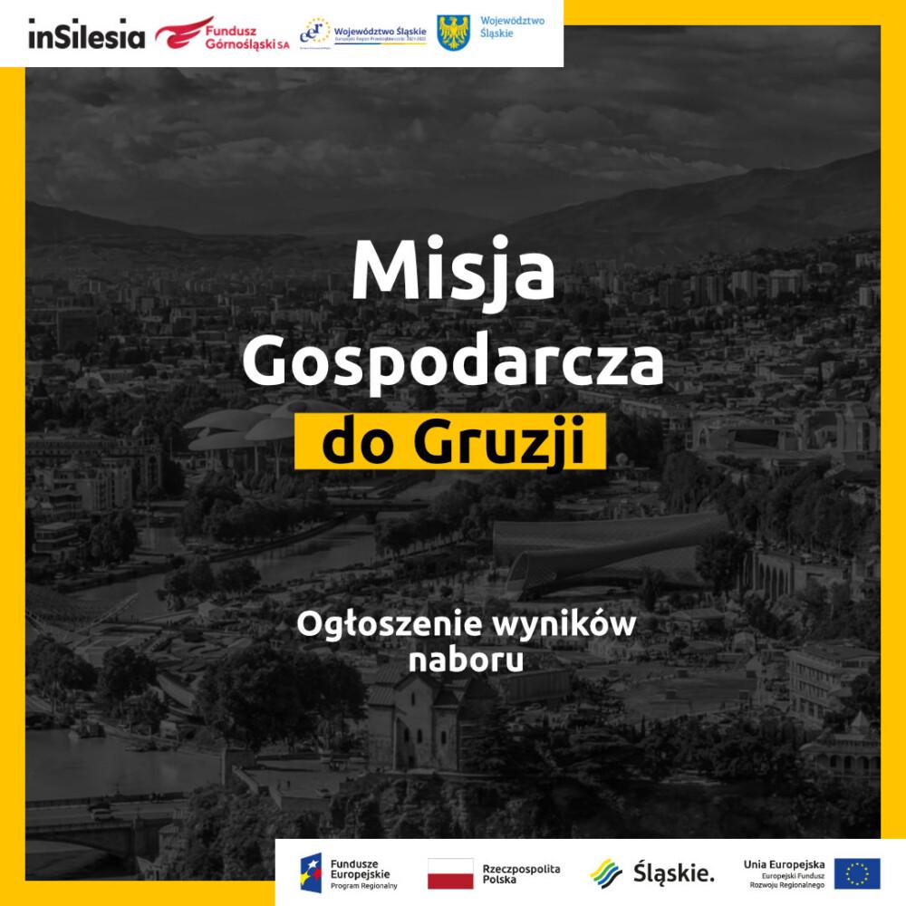 Wyniki naboru przedsiębiorstw doudziału wzagranicznej misji gospodarczej doGruzji!