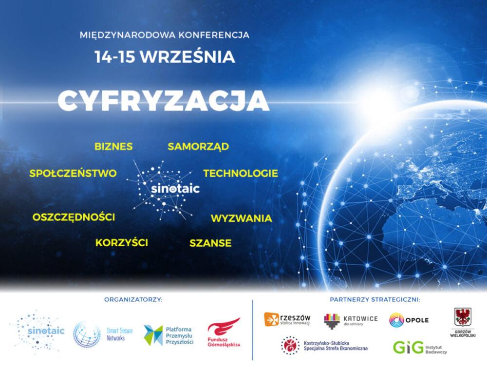 """Międzynarodowa Konferencja: """"CYFRYZACJA"""""""